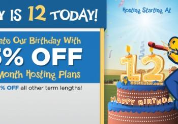 HostGator Birthday Sale Birthday Sale Starts Tonight – 65% Off +  Free WordPress Setup!